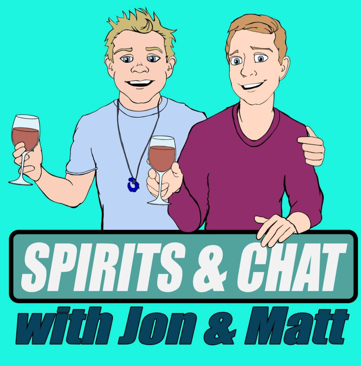 Profile artwork for Spirits and Chat with Jon and Matt